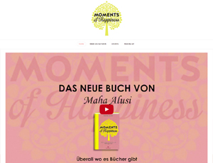 Screenshot of the website onlyhappymoments.de