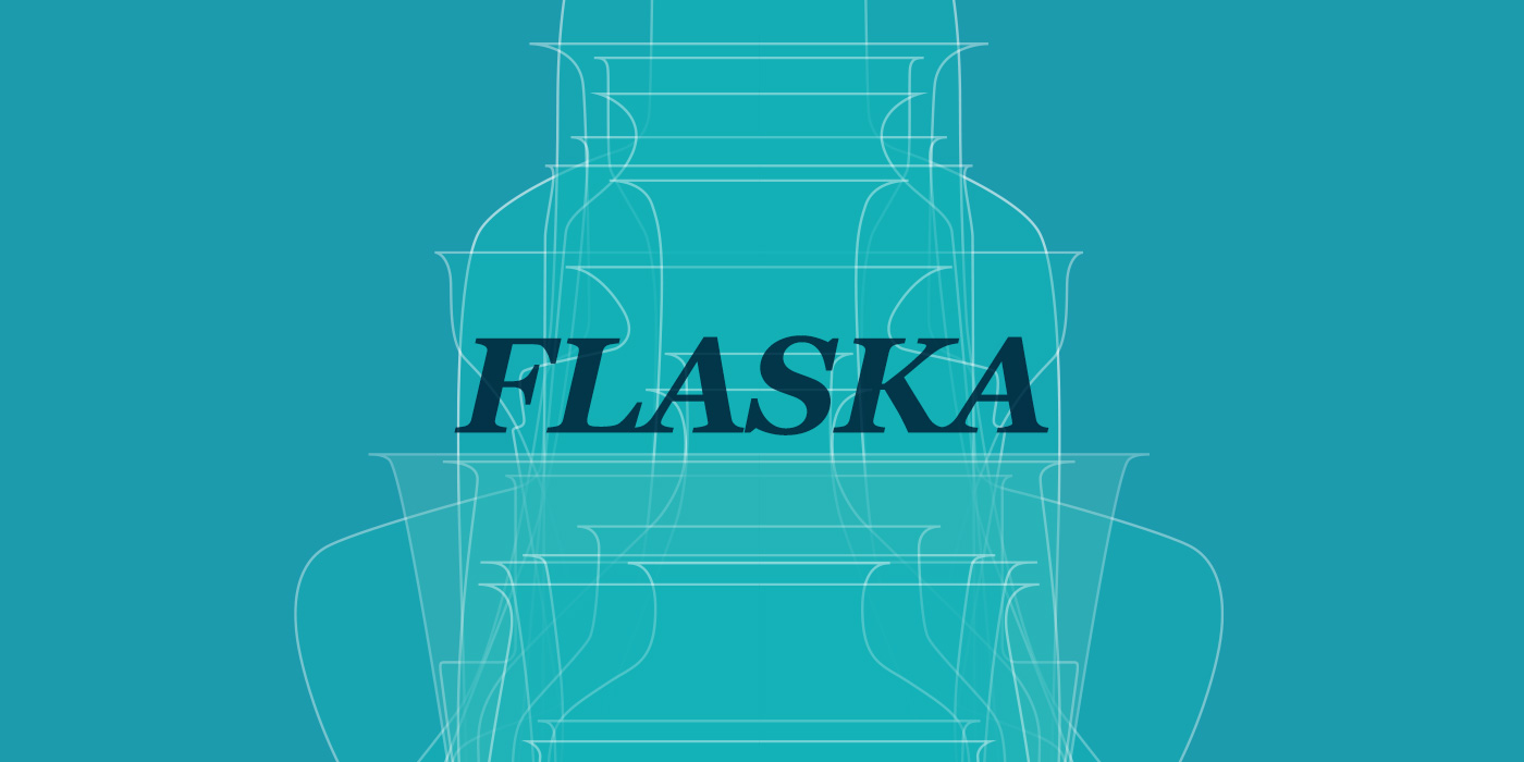 Flaska by WACH designstudio graphical layout