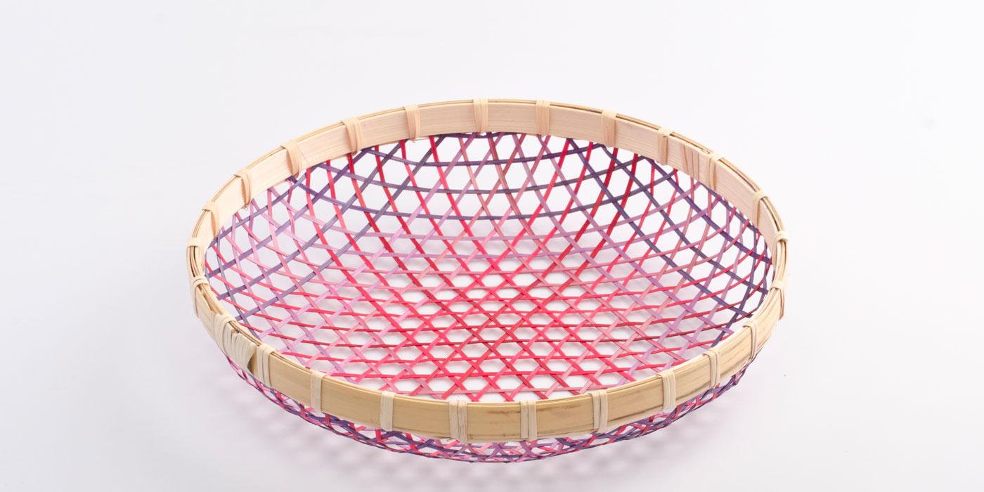 Gradient Basket red