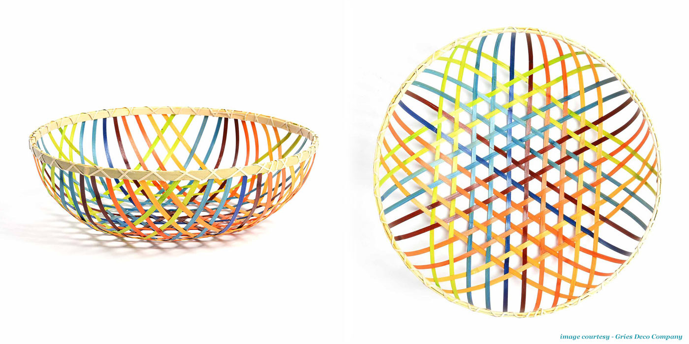 Gradient Basket 'Bunt' available at Depot - FMQ0066240