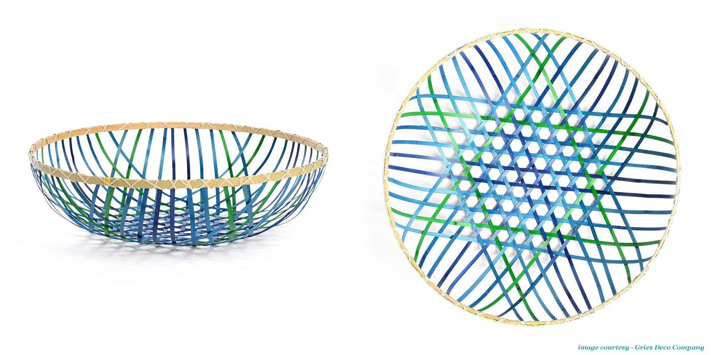 Gradient Basket 'Petrol' available at Depot - FMQ0067179