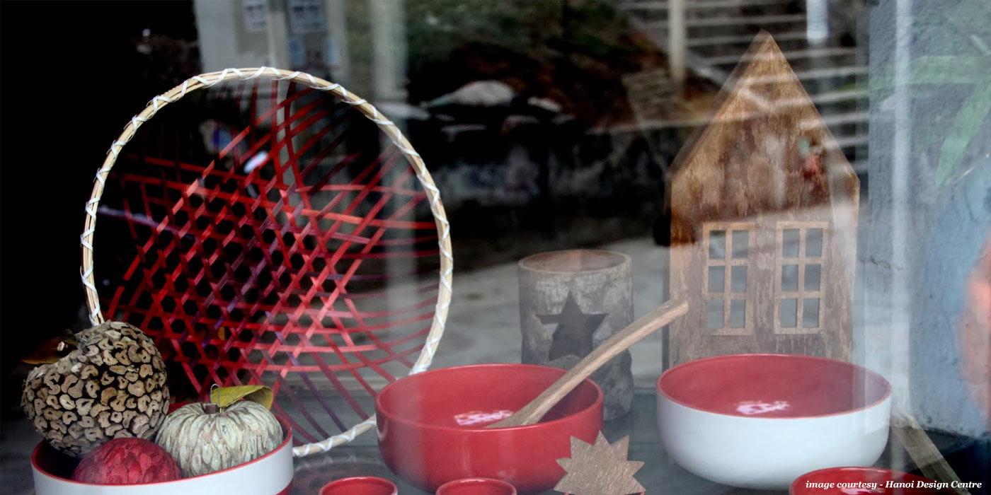 Gradient Basket christmas at Hanoi Design Centre