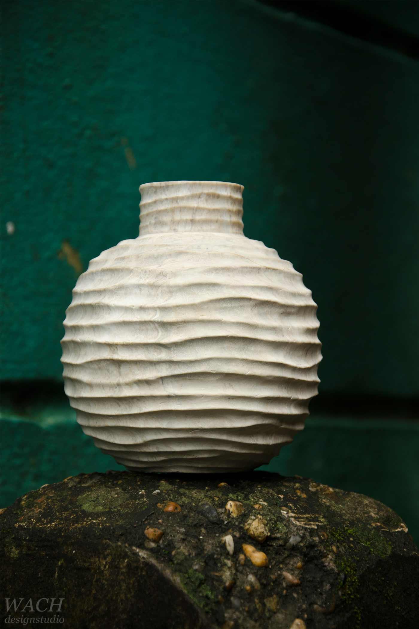 Vietnamese handcrafted stone vase