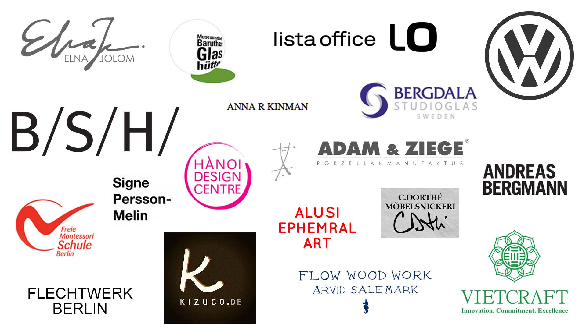 WACH designstudio friends, partners and contractors