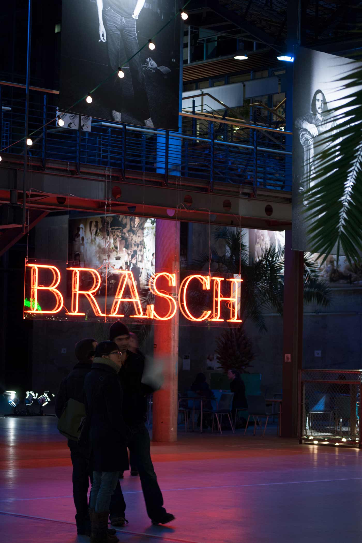 HFF Atrium with Brasch neon sign