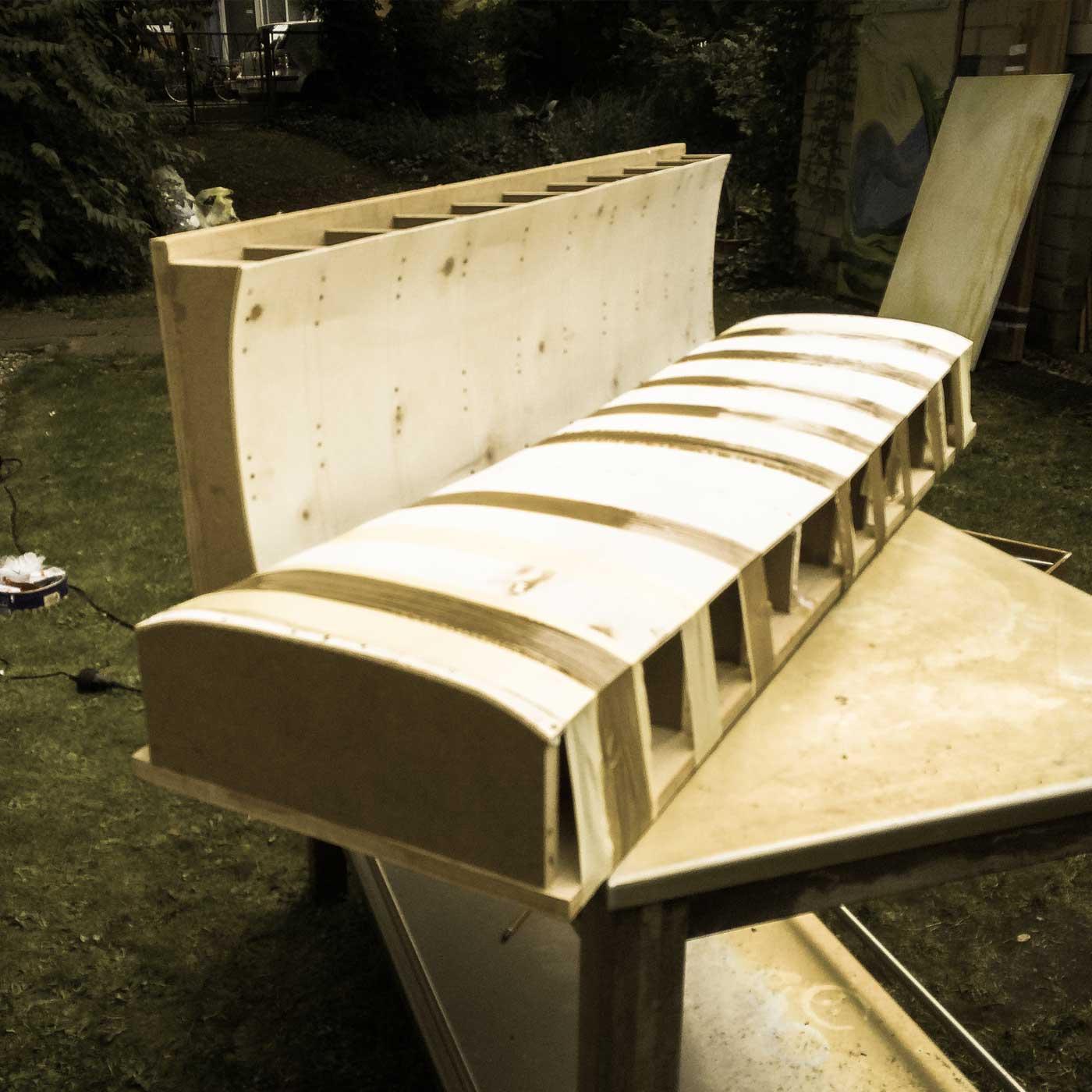 Final mold for WACH designstudio longboard